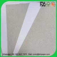 China Competitive Price 300 gsm 450gsm 70 *100 cm duplex board with gray back wholesale