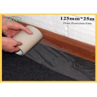 China 125mm Width Floor Protection Film Anti Dirt Against Wall Painting wholesale