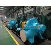 China High Speed Double Suction Split Case Pump , Horizontal Water Pump Delivering Liquids wholesale