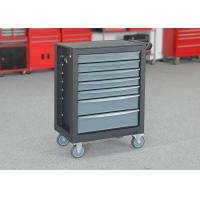 China 27 Inch Gray Color Mobile Tool Cabinet 7 Drawers For Large Capacity wholesale