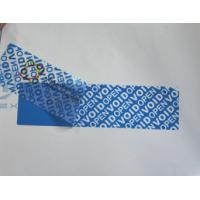 China High - Residue Self Adhesive Security Labels Reveal Hidden Message wholesale
