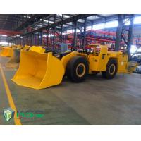 China Diesel Engine Tunnel Loader Load Haul Trailers For Underground Mining Transporter wholesale