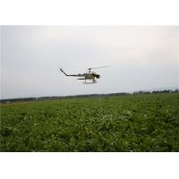 China Agriculture UAV Helicopters for Pesticide Spraying 24 Hectares a Day Light Aviation Material wholesale