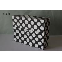 China CD /album storage box with empty lable groove wholesale