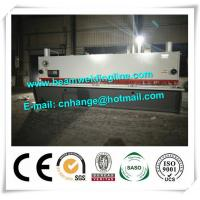 China QC11Y-16x8000 Hydraulic Guillotine Shearing Machine For Q235A Steel Sheet wholesale