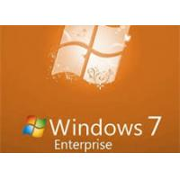 China 100% Original Windows Seven Enterprise 32/64 Bit OS Full Version Activation Online wholesale