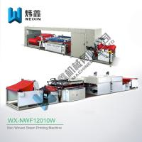 China Garment Fabric Textile Non Woven Screen Printing Machine For Non Woven Bag wholesale