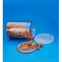 China Cylinder Clear Plastic Storage Containers With Lids Small Capacity 28G on sale