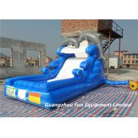China Inflatable dolphin inflatable water slide for kids, inflatable water slide whole seller wholesale