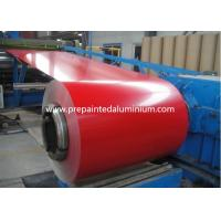 China color coated Aluminium Coil used for roofing , thickness 0.1-2.5mm wholesale