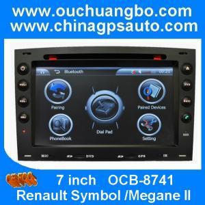 China Ouchuangbo Renault Symbol /Megane II car multimedia with RDS iPod gps radio TV OCB-8741 wholesale