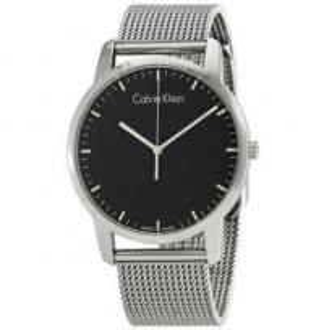 Buy cheap Calvin Klein Men's CK City Watch in Silver K2G21126 K4Y2L616 K3Y2S116 K2W21Z4N from wholesalers