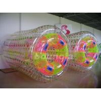 Quality 0.8mm/1.0mm Thick PVC Material Inflatable Water Roller For Commercial Use for sale