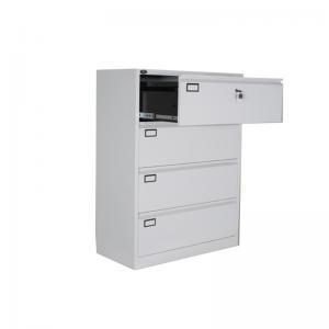 China 4 Doors  Safe Digital Locks  Drawer Filing Cabinet on sale