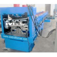 China Top Roofing Ridge Cap Roll Forming Machine Shanghai wholesale