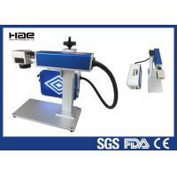 China Easy Maintenance Fiber Laser Marking Machine For LED Lamp Cup CE Certificated on sale