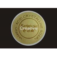 China Custom Embossed Labels Stickers 3D Screen Printing Embossed Decals wholesale
