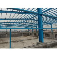 China Painting High Rise Structural Steel Plant , Workshop Pre Engineered Steel Buildings wholesale
