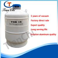 China Cryogenic hospital liquid nitrogen container 15L freezing equipment of cell and samples wholesale