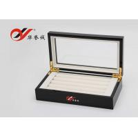 China Jewellery Storage Wooden Jewellery Box  Flannelette Inside With Cover wholesale