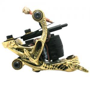 China Professional 10 wraps Brass Tattoo Machine for Body / Eyebrown / Lip on sale