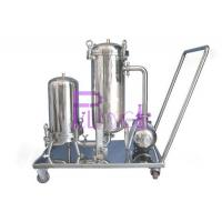 China 320kg Beverage Syrup Filter For Soft Drink Processing Equipment SUS304 1.5mm Single Layer wholesale