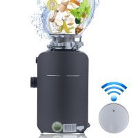 China DSKZI New Kitchen Food Garbage Processor Disposal Crusher DC motor white color with remote control wholesale