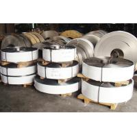 China 2B, BA, 8K Finish 201 304 410 430 Cold Rolled Stainless Steel Strip For Auto parts wholesale
