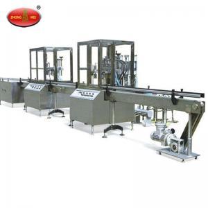 China Fully Automatic Aerosol Filling Line machine wholesale