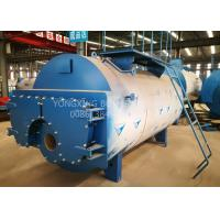 China 5 Ton Oil Fired Combi Boiler , 3 Pass Wet Back Steam Boiler For Palm Oil Production wholesale