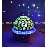 China 6x3W 360 Degree LED Effect Light , Disco Dj Stage Lighting Led Rgb Crystal Magic Ball wholesale