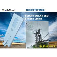 China Renewable 80W Solar Powered Street Lamp For Government Project / LED Solar Road Lights wholesale