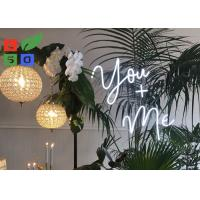 China Warm DIY Made Led Neon Signs , LED Channel Letter Signs For Festival, Wedding Decoration And Holiday Time on sale