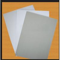 China Coated white duplex board with grey back and white back on sale