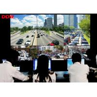 China Security video wall 3x3 16:9 samsung lcd monitors for Surveillance and Retail Center on sale