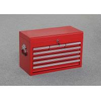 "China 26"" Professional Red Metal Top Tool Chest With 7 Drawers + 2 Handles To Store Tools wholesale"