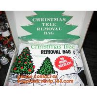 China Promotion large removal waterproof Christmas artificial decorated tree bag,10 Ft Christmas Tree Removal Gift Bags packag wholesale
