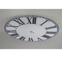 China Round Silent Mechanical Wall Clock DIY Art Decorative Clocks For Gift wholesale
