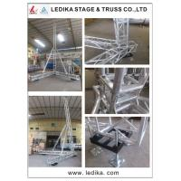 China Latest Silver Line Array Speaker Truss , Flexible A Frame Lift Tower Truss wholesale