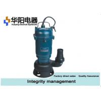 China 1 Hp Sewage Grinder Pump Civil Engineering Construction Water Drainage wholesale