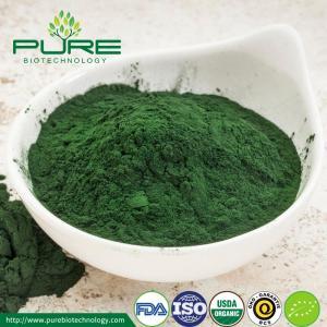 China NOP Certified Organic Green Spirulina Powder wholesale