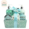 China Adult Body Care Bath Gift Set / Luxury Body Care Gift Sets Weaving Basket wholesale