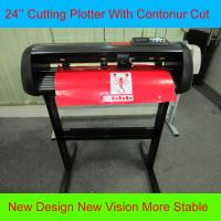 China Computer Cutting Plotter 24 Inches Vinyl Cutter With Stepper Motor HW630 Vinyl Sign Cutter wholesale
