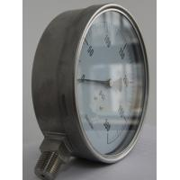 China 150mm liquid filled pressure gauges stainless steel back type CE wholesale