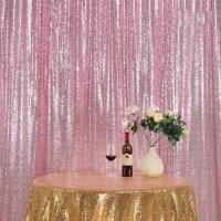 China Polyester Material Shimmer Curtain Backdrop Accessories10ftx10ft Smooth wholesale