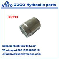 China Hydraulic Hose Ferrule Pipe Quick Connect Fittings , Fuel Hose Water Hose Quick Connectors wholesale