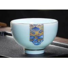 China Small Chinese Style Custom Ceramic Mugs Classic Ceramic Tea Mug In Stock wholesale