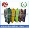 China Waterproof Printing Stand Up Plastic Food Packaging Bags / Branded Popcorn Bags wholesale
