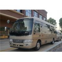 China 130 Km/H Max Speed Second Hand Coaster Toyota Brand Gasoline Fuel With 19 Seats wholesale