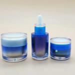 China 30ml acrylic dropper Bottles Essential Oil Bottle wholesale